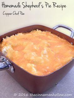 Homemade Shepherd's Pie Recipe - Copper Chef Cookware