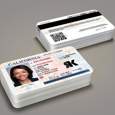 Business Cards-Creative-Drivers License