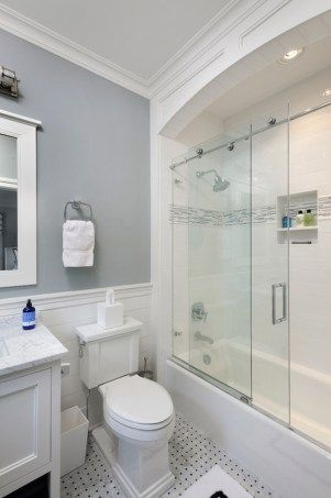 99 small bathroom tub shower combo remodeling ideas 5 - Ideas For Remodeling A Small Bathroom