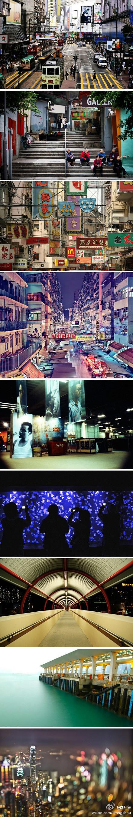 浮华香港的另一面。