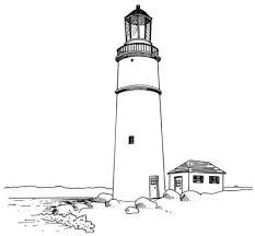 realistic lighthouse coloring pages google search