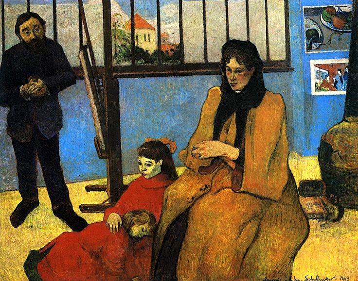 The Schuffenecker Family 1889 - Paul Gauguin