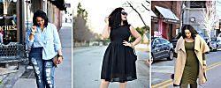 Moda para chicas con curvas que derrochan estilo, ¡inspiración de street style!