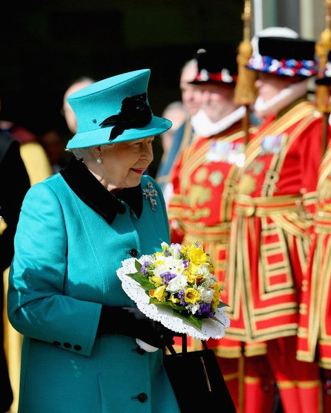 Queen Elizabeth II Photos: The Queen and Duke Of Edinburgh Will Attend The Royal Maundy Service