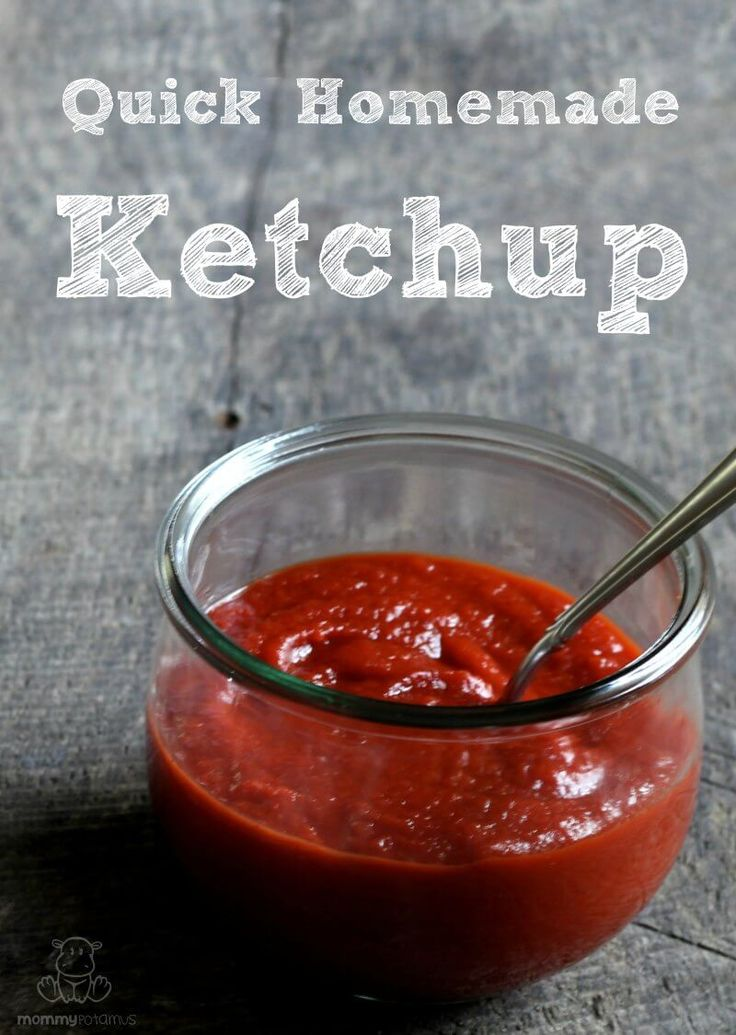 This homemade ketchup recipe is easy to make and kid-approved.