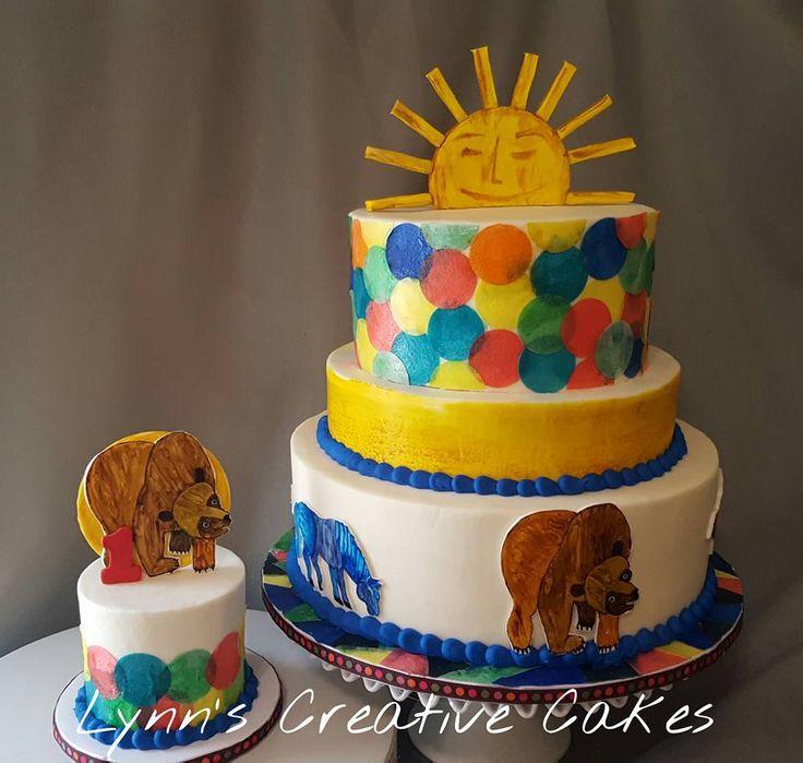Brown bear, brown bear cake.  Wafer paper