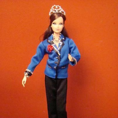Maxx Factor barbie - 2011 SAI quartet champions