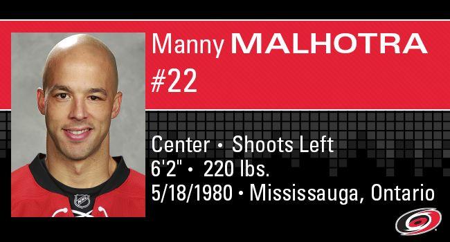 #22 Manny Malhotra