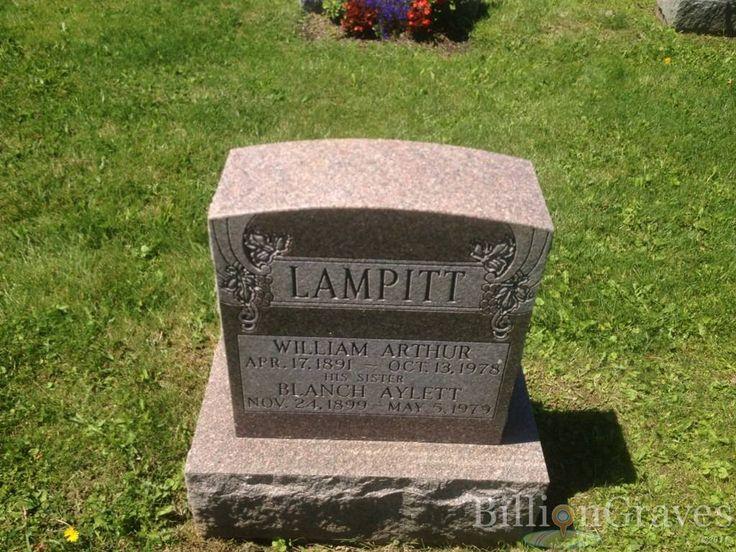 William Arthur Lampitt | Billion Graves Record