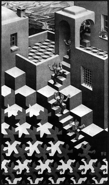 Maurits Cornelis Escher - Cycle
