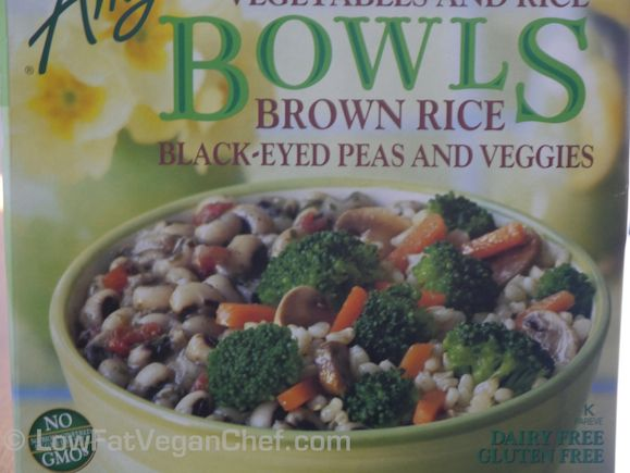 Amys Bowls Black Eyed Peas Brown Rice and Vegetables