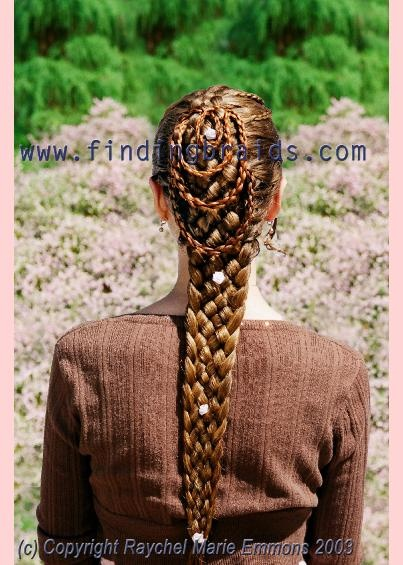 Seven Strand Single Braid Hair Pinterest Hair Style Long Hairstyle And Hair Coloring