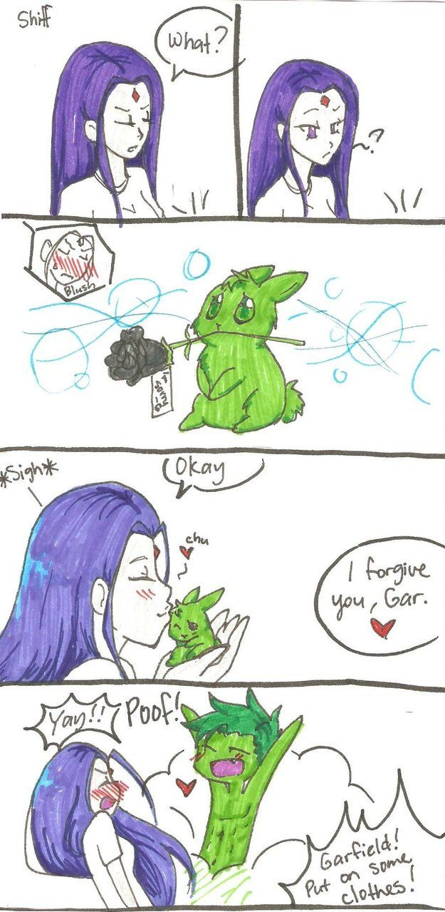 How Beast Boy Gets Out Of Trouble Pg 2 By Mess-Anime -6523