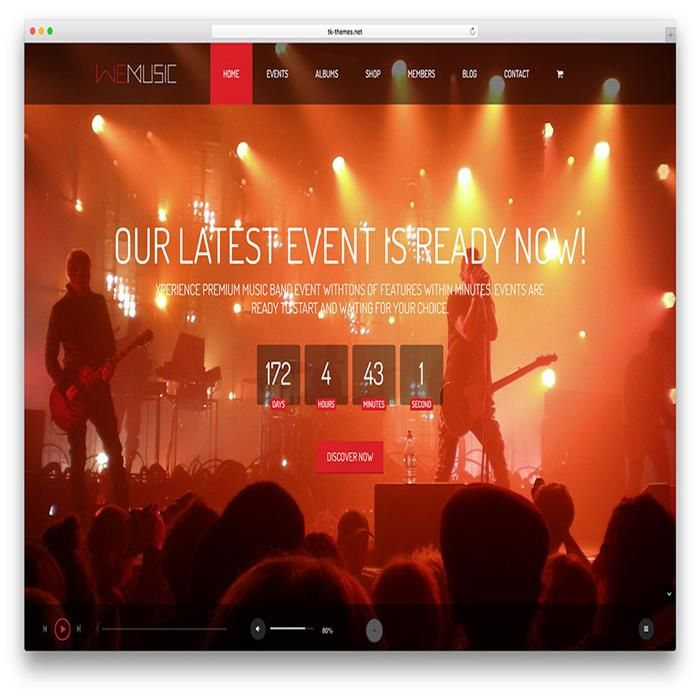 The 46 best Music WordPress Themes images on Pinterest | Website ...