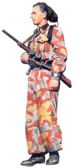 """R.S.I. -Volontario Legione """"Tagliamento"""", Italia maggio 1944, pin by Paolo…"""