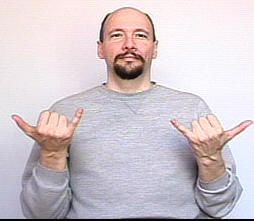 """today"" ASL American Sign Language"