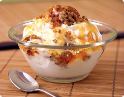 #yogurt #honey #nuts