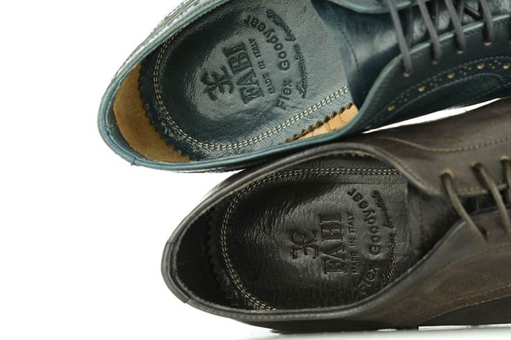 The story of Fabi's production of quality leather shoes began in 1965 with passion for Made in Italy and for the details.