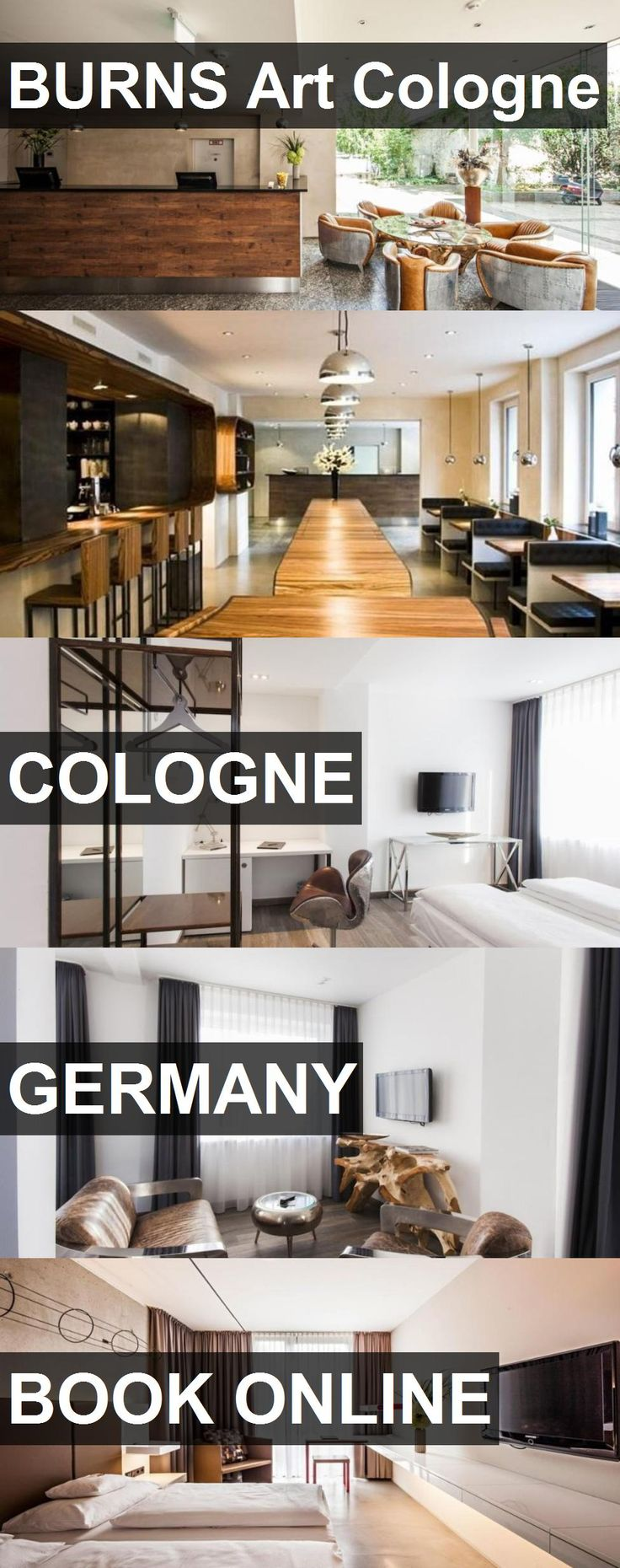 Hotel BURNS Art Cologne in Cologne, Germany. For more information, photos, reviews and best prices please follow the link. #Germany #Cologne #BURNSArtCologne #hotel #travel #vacation