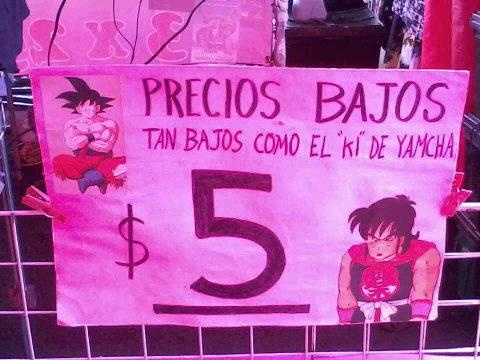 low prices / DBZ