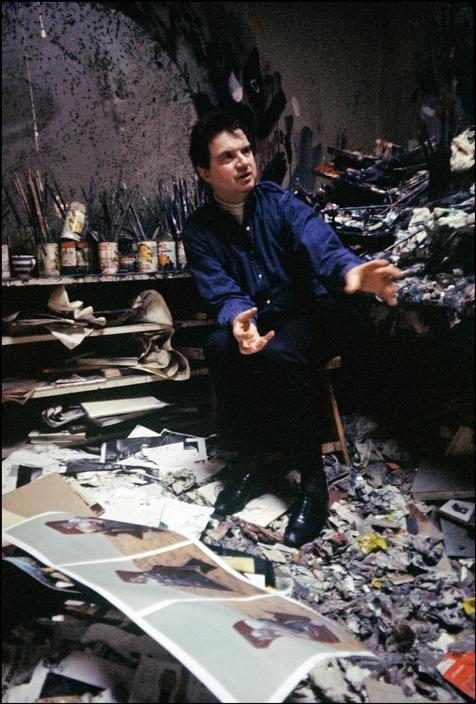Ian Berry: Francis Bacon, London, 1967.