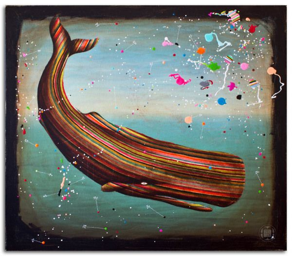 *Colored cachalot* - Robert Romanowicz