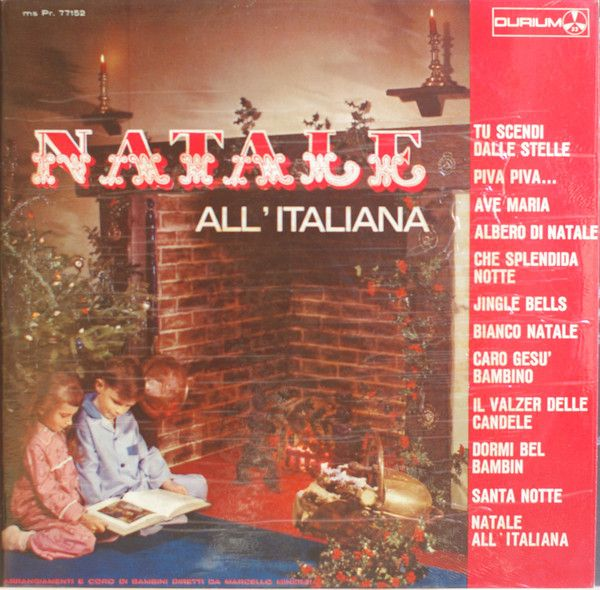 Arrangiamenti E Coro Di Bambini Diretti Da Marcello Minerbi* - Natale All'Italiana (Vinyl, LP) at Discogs