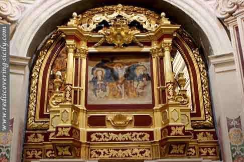 Sanctuary of Papardura Enna - High Altar