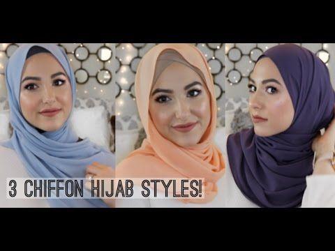 3 Effortless Chiffon Hijab Styles by Leena Asad | Hijab Fashion Inspiration