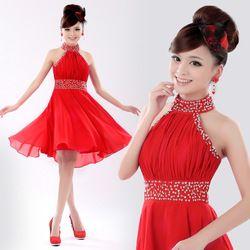 Ucuz  Doğrudan Çin Kaynaklarında Satın Alın: 1. elbise malzeme: şifon2. moda unsurları: fermuar3. bel şekil: orta bel4. elbise modelleri: boyun5. dekorasyon: çivi boncuk boncuk: pul6. yapmak Bedeninizi eklemeniz gerekir $5.00/pcs.7. modeli yükse
