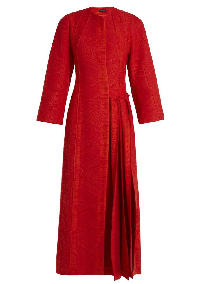 Flame pleated-side coat | Carl Kapp | MATCHESFASHION.COM AU