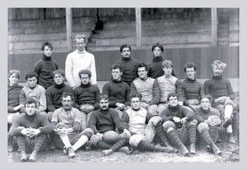 University of Pennsylvania Football Team Philadelphia PA 12x18 Giclee on canvas