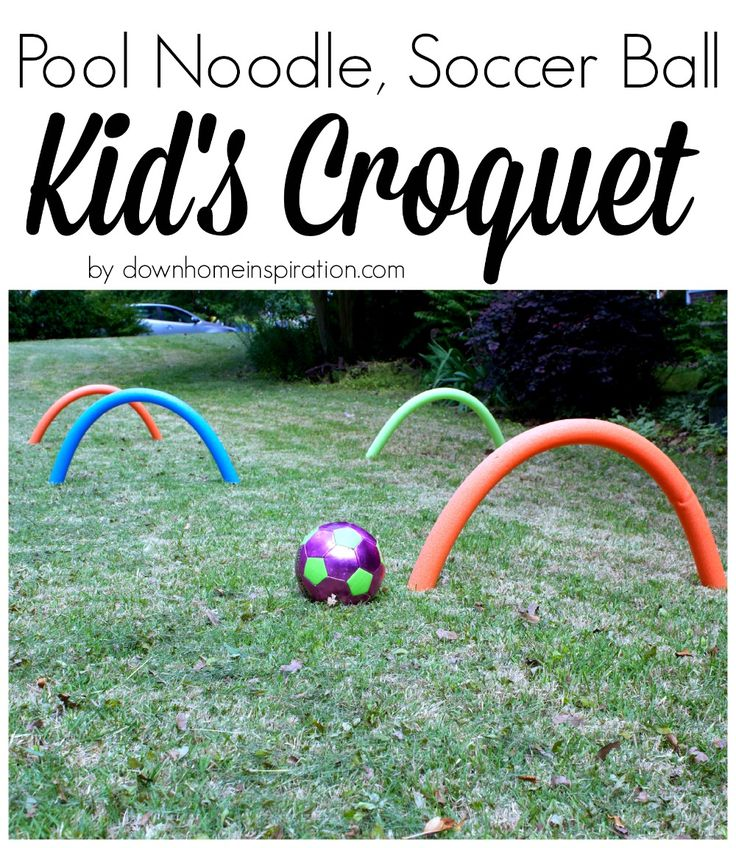 Pool Noodle, Soccer Ball Kid's Croquet