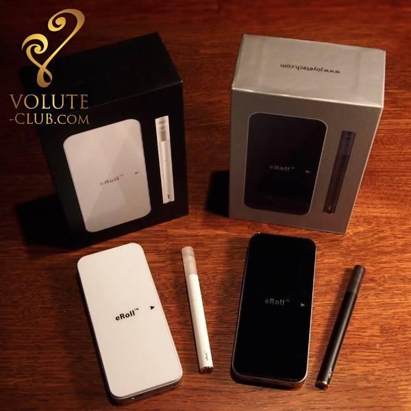 Coffret Joyetech eRoll  la e-cigarette mini et fashion qui se recharge grace à son boitier de rangement.