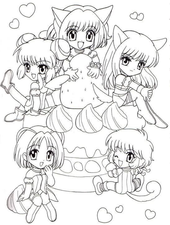AnimeManga to color a collection