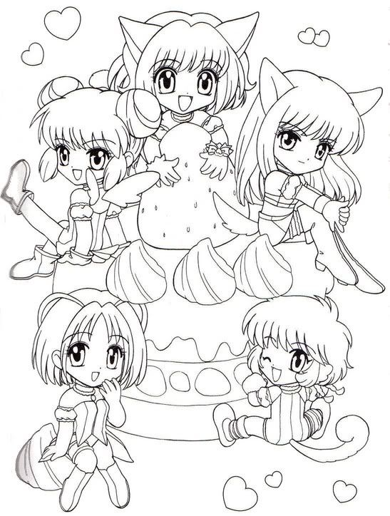 AnimeManga to color a collection of ideas to try about