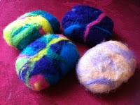 Felted Homemade Gift Ideas Felted soap