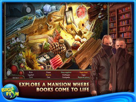Free Full iPad Hidden Object Games App Offer from BigFish
