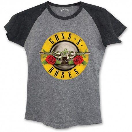 Tricou Fete Guns N' Roses: Circle Logo