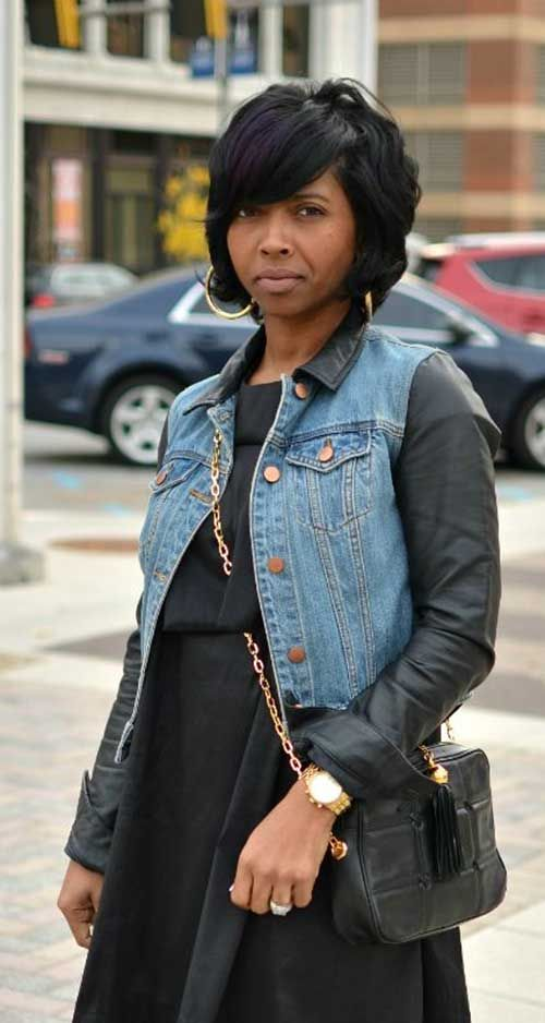 Swell 1000 Ideas About Black Bob Hairstyles On Pinterest Black Bob Hairstyle Inspiration Daily Dogsangcom