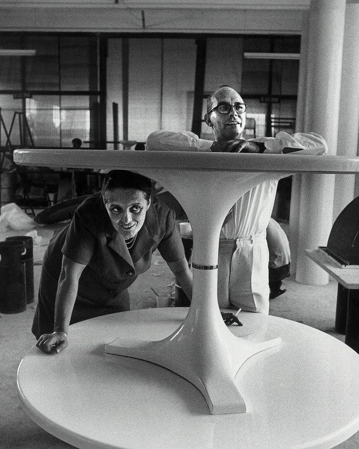Kartell founders Anna Ferrieri Castelli & Giulio Castelli (1967)