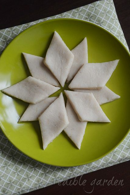 Kaju Katli (kaju burfi, cashew barfi) is the only South Indian sweet that TH would eat and so I try to make it during Diwali time. I have made kaju katli twice before this. The first time I made it, I got a perfect batch which I shared with friends but I couldn't document the...Read More »