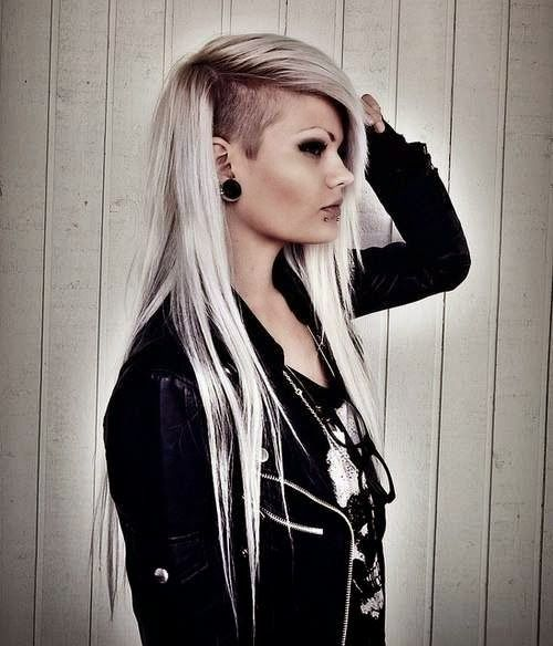 36 Sexy and Hot Half Shaved Hairstyles - Best 25+ Half Shaved Hairstyles Ideas On Pinterest Half Shaved