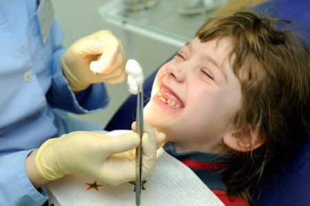 afterwards, the root canals are opened and cleaned #OremDentist