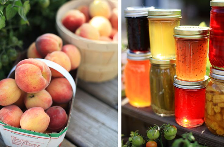 This is Huron » A Simple Photograph - peaches and preserves -  - Huron County - Ontario