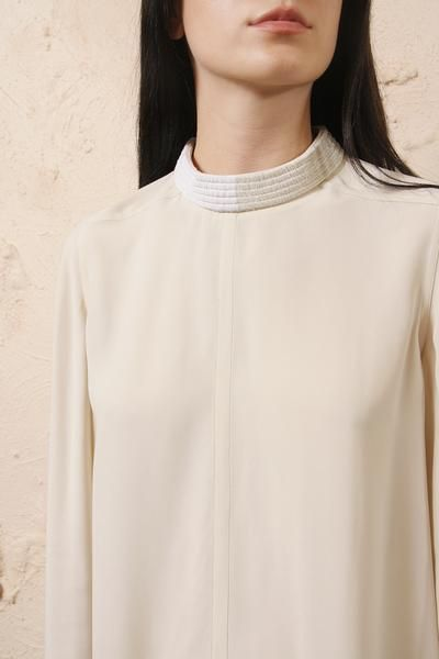 474ad214f31 Moody Long Sleeve Tunic | Rick Owens | Long sleeve tunic, Tunic ...