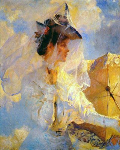 Against the Sky by Frank Weston Benson