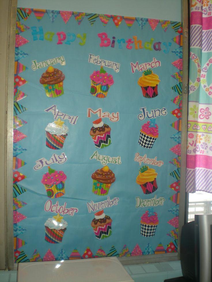 Classroom Design Birthday ~ Classroom birthday board ideas google search