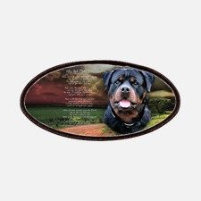 """""""Why God Made Dogs"""" Rottweiler Patches for"""