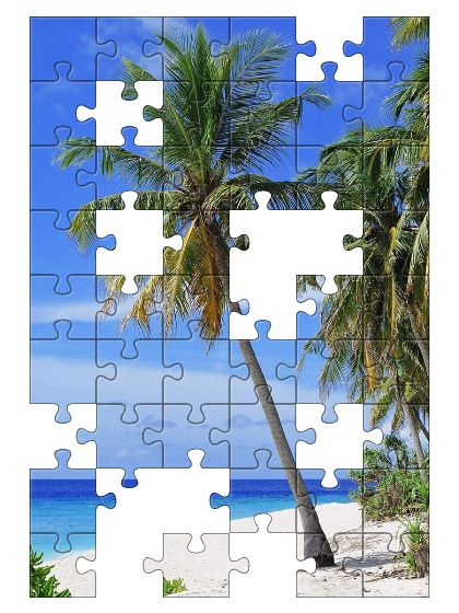 Free Jigsaw Puzzle Online - PALM TREE  #Game #JigsawPuzzle #Puzzle #freegame